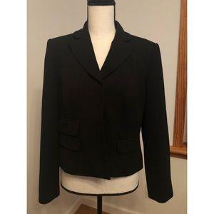 Sag Harbor Petite Black Blazer Size 10P
